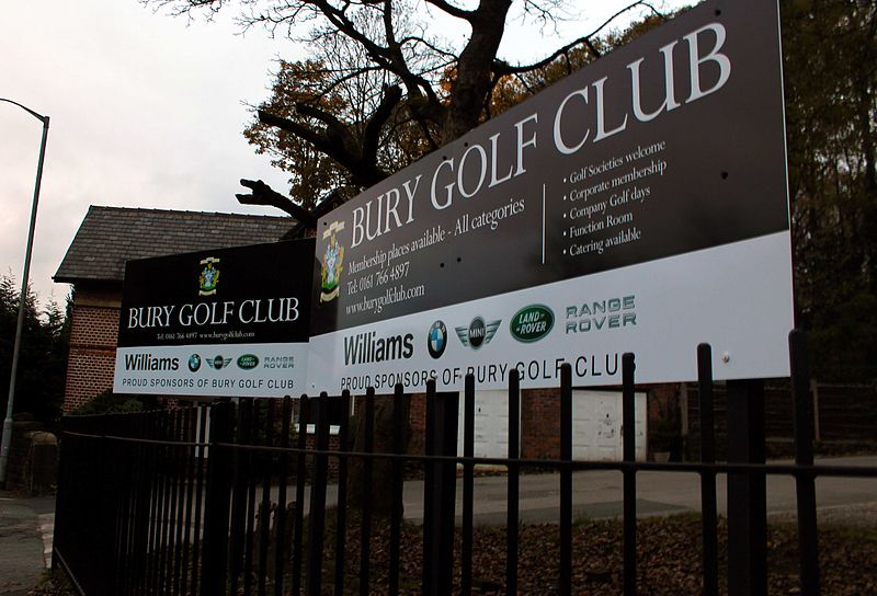 Case Study: Bury Golf Club, Bury